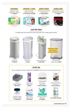 Pampers deals in buybuy BABY