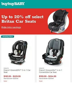 Buybuy BABY deals in the buybuy BABY catalog ( Expires today)