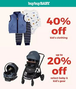 Kids, Toys & Babies deals in the buybuy BABY catalog ( 5 days left)
