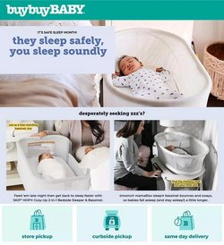 Kids, Toys & Babies deals in the buybuy BABY catalog ( 3 days left)