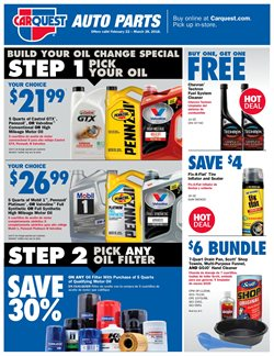 Carquest deals in the New York weekly ad