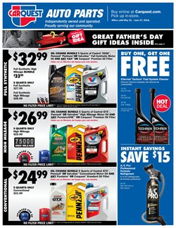 Carquest deals in the Raleigh NC weekly ad