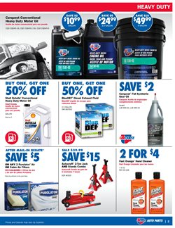 Exhaust deals in the Carquest weekly ad in Dearborn Heights MI
