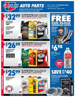 Carquest deals in the Los Angeles CA weekly ad