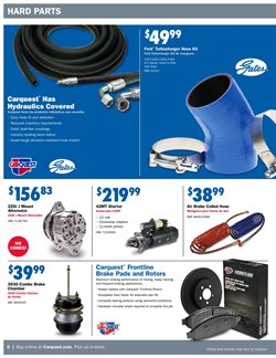 Brakes deals in the Carquest weekly ad in Kansas City MO