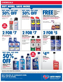 Brakes deals in the Carquest weekly ad in Knoxville TN