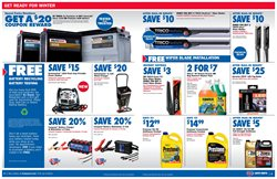 Antifreeze deals in the Carquest weekly ad in New York