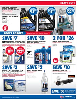 Oil change deals in the Carquest weekly ad in La Habra CA