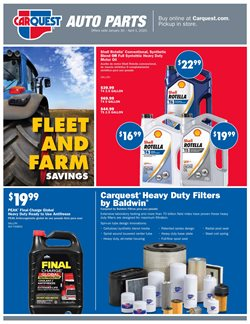 Carquest catalogue in Atlanta GA ( More than a month )