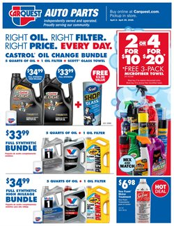 Carquest catalogue ( Published today )