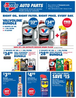 Automotive offers in the Carquest catalogue in Syracuse NY ( 20 days left )