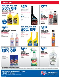 Matches deals in Carquest