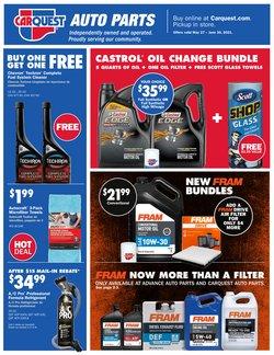 Automotive deals in the Carquest catalog ( 7 days left)