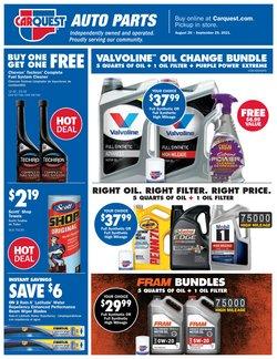 Automotive deals in the Carquest catalog ( 10 days left)