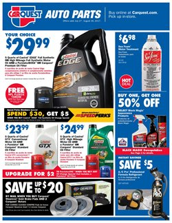 Carquest deals in the Philadelphia PA weekly ad