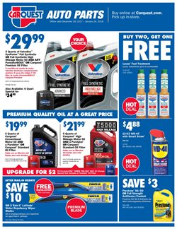 Carquest deals in the La Salle IL weekly ad