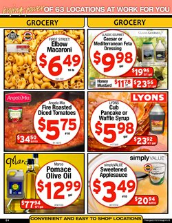 Pasta deals in the Cash-and-Carry weekly ad in Modesto CA