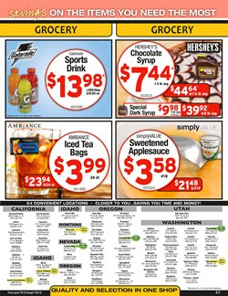 Bags deals in the Cash-and-Carry weekly ad in Modesto CA