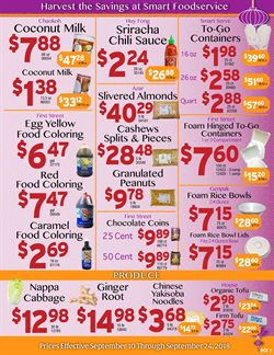 Cash-and-Carry deals in the Seattle WA weekly ad