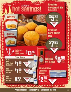 Corn deals in the Cash-and-Carry weekly ad in Lodi CA