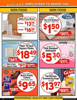 Pizza deals in the Cash-and-Carry weekly ad in Modesto CA