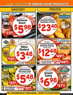 Barbecue deals in the Cash-and-Carry weekly ad in Modesto CA