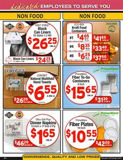 Furniture deals in the Cash-and-Carry weekly ad in Redding CA