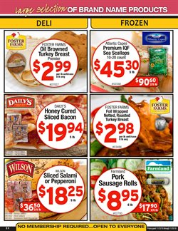 Bakery deals in the Cash-and-Carry weekly ad in Federal Way WA