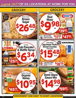 Salad deals in the Cash-and-Carry weekly ad in San Francisco CA