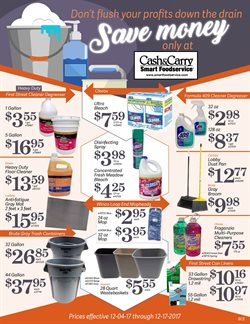Fabric softener deals in the Cash-and-Carry weekly ad in Modesto CA