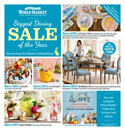Cost Plus World Market deals in the Wichita KS weekly ad