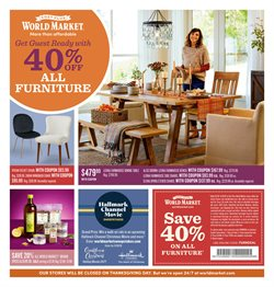 Home & Furniture deals in the Cost Plus World Market weekly ad in Tucson AZ