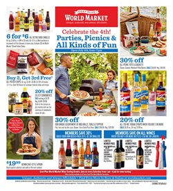 Cost Plus World Market deals in the Dallas TX weekly ad