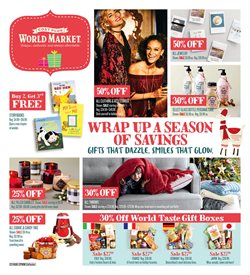 Cost Plus World Market deals in the New York weekly ad