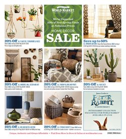 Cost Plus World Market deals in the Denver CO weekly ad