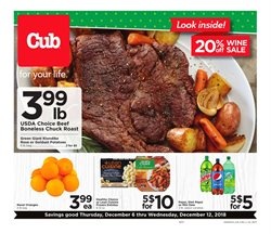 Restaurants deals in the Cub Foods weekly ad in Minneapolis MN