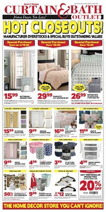 Curtain and Bath Outlet catalogue ( Expired )