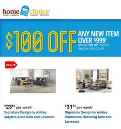 Home Choice deals in the Home Choice catalog ( 5 days left)