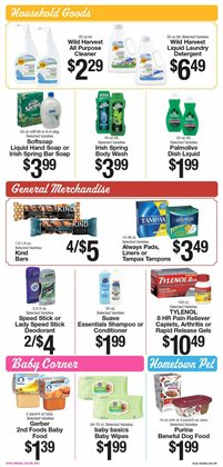 Gel deals in the IGA weekly ad in Dearborn Heights MI