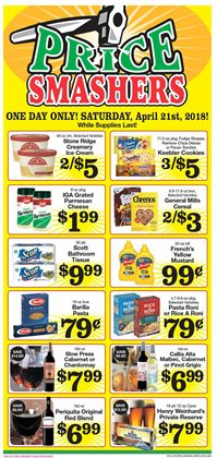 Boxes deals in the IGA weekly ad in New York