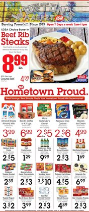 IGA deals in the Medina OH weekly ad