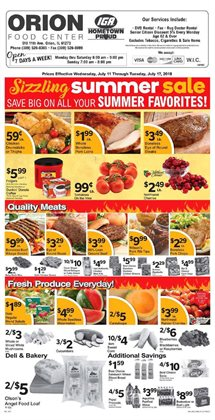 Meat deals in the IGA weekly ad in Livonia MI