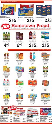 Potatoes deals in the IGA weekly ad in Federal Way WA