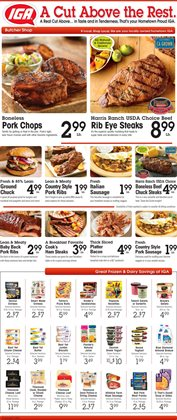 Walker deals in the IGA weekly ad in Acworth GA