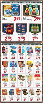 Saw deals in the IGA weekly ad in New York