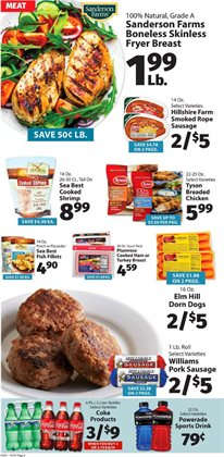 Chicken deals in the IGA weekly ad in Schenectady NY