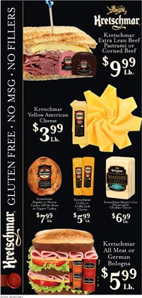 Cheese deals in the IGA weekly ad in Livonia MI