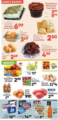 Potatoes deals in the IGA weekly ad in Tacoma WA