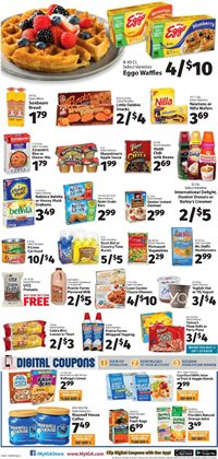 Red wine deals in the IGA weekly ad in New York