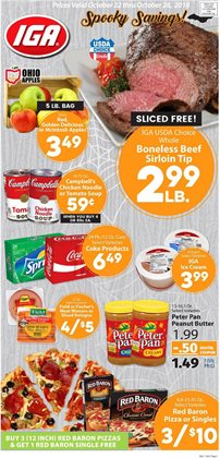 Butter deals in the IGA weekly ad in New York